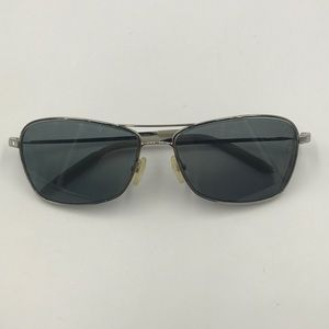 Other - Mosley Tribes Silver Metal Rectangle Sunglasses